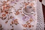 Скатерть Праздничная с Кружевом 130-175 «Beautiful» Овальная №7, фото 2