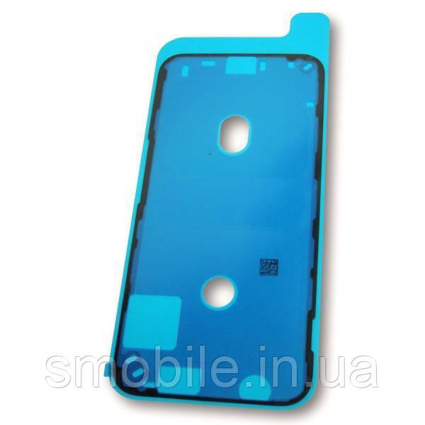 Стикер влагозащитный iPhone 12 mini двухсторонний скотч под дисплейный модуль, черного цвета