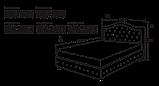Кровать Афина 2, фото 2