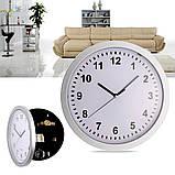 Настенные пластиковые часы-тайник-сейф SAFE CLOCK (7031), фото 2