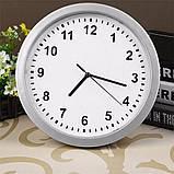 Настенные пластиковые часы-тайник-сейф SAFE CLOCK (7031), фото 3