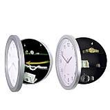 Настенные пластиковые часы-тайник-сейф SAFE CLOCK (7031), фото 4