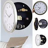 Настенные пластиковые часы-тайник-сейф SAFE CLOCK (7031), фото 9
