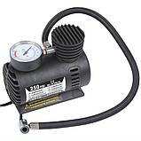 Автомобильный компрессор 250 psi 10-12Amp 25л + насадки, фото 2