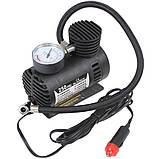 Автомобільний компресор 250 psi 10-12Amp 25л + насадки, фото 3