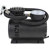 Автомобільний компресор 250 psi 10-12Amp 25л + насадки, фото 5