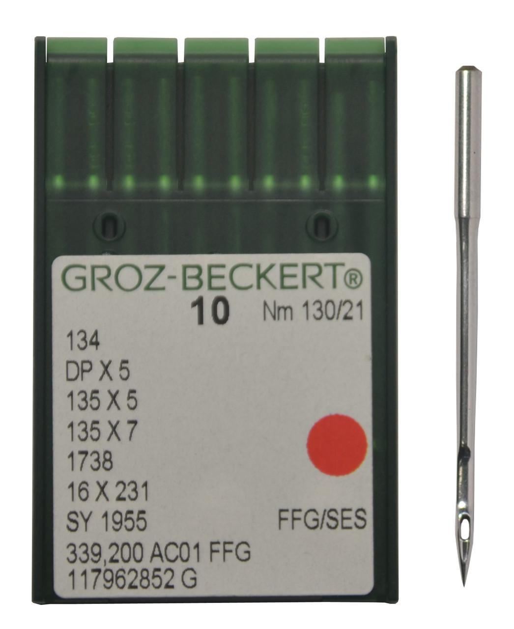 """Иголка к швейной машинке """"Версаль"""", GROZ-BECKERT,134 DP*5 №130/21"""