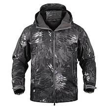 Куртка водозащитная софтшел реплика ESDY Travel в расцветке ночной питон