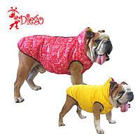 Жилет двухсторонний для собак DIEGO sport double 6/10 Пифагор красный, размер 6 - длина спины - 51-60см,