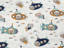 Сатин-твил Котики подводные лодки