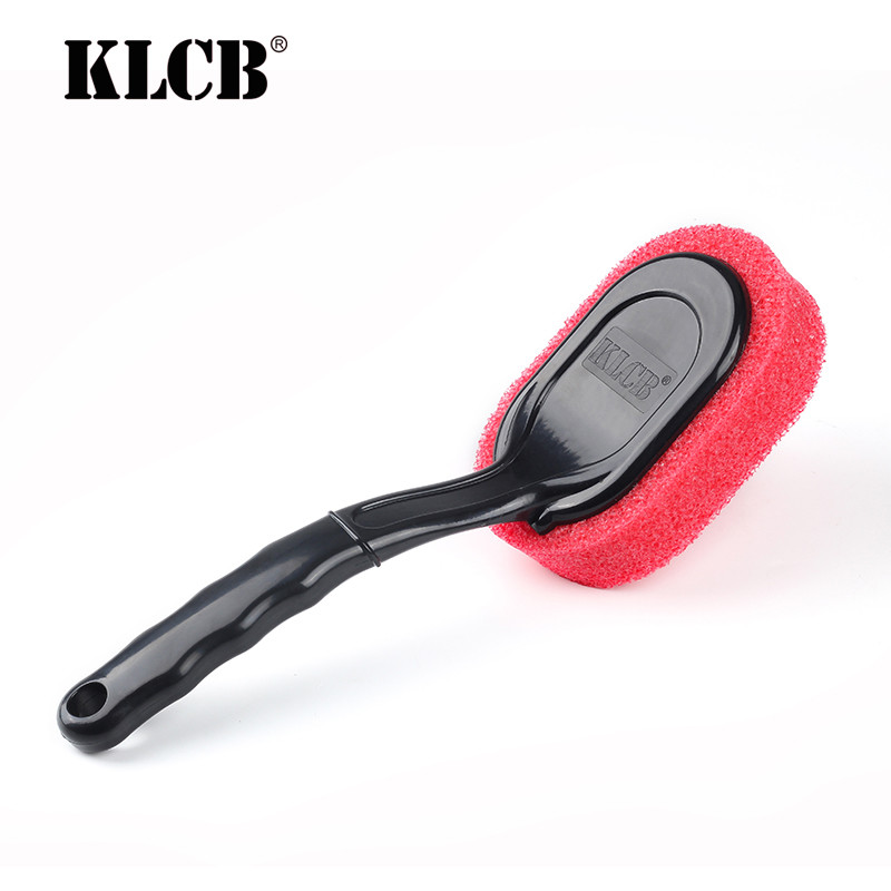 KLCB KA-G023 Губка для чернения резины с ручкой  90*290 мм
