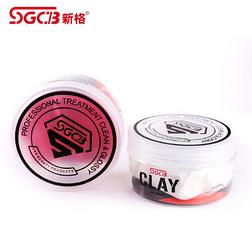 Полировочная глина абразивная SGCB Detailing Clay (красная) ,150 гр