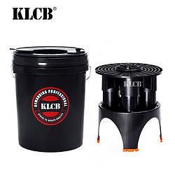 KLCB KA-G027 Відро для миття полірувальних кіл чорне