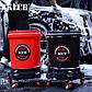 KLCB Ведро для мойки авто с сепаратором и колесиками красное 20л, фото 6
