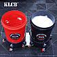 KLCB Ведро для мойки авто с сепаратором и колесиками красное 20л, фото 7