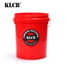 KLCB Відро для мийки авто червоне 20л
