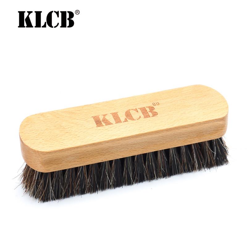 KLCB KA-G026 Щетка с щетиной из конского волоса для очистки кожи