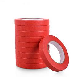 Маскуюча термостійка стрічка SGCB 18мм*50м, червона