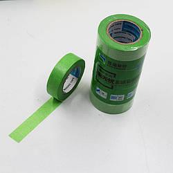 Маскуюча термостійка стрічка зелена 20мм*18м
