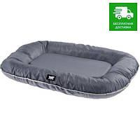81095121 Ferplast Oscar Мягкая подушка для собак серая, 80х60х11 см