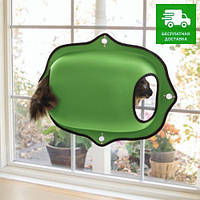 9182 K&H Pet Products Домик на окно, зеленый