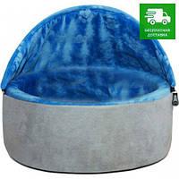 2996 K&H Pet Products Самосогревающийся будиночок-лежак, синій