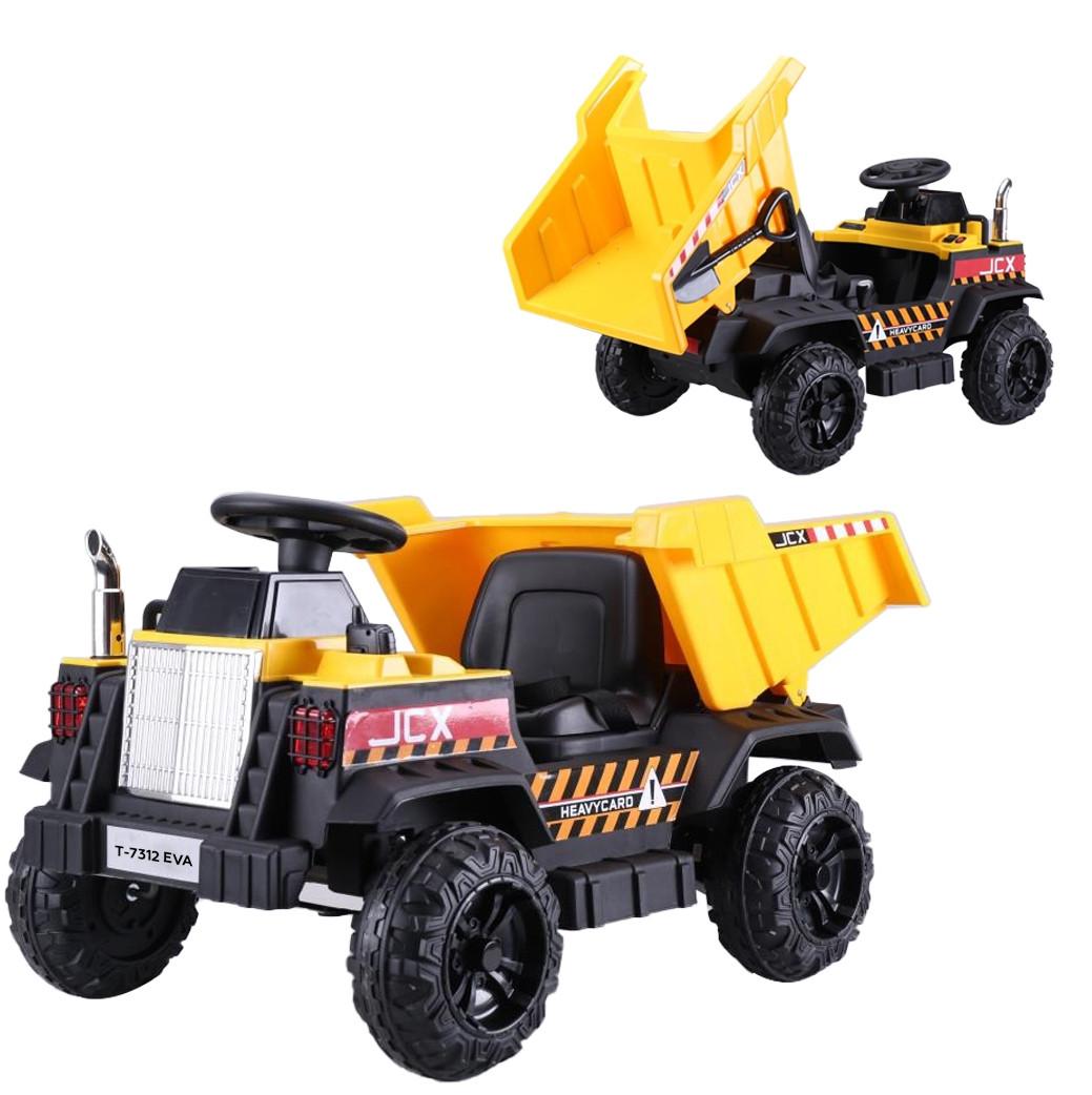 Дитячий легковий електромобіль-Трактор з ковшем M 4321LR-3-4