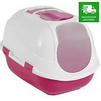 C27006 Moderna Mega Comfy Cat Закрытый туалет, розовый