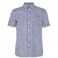 Рубашка Pierre Cardin Sleeve Navy/Blue/Wht - Оригинал, фото 1
