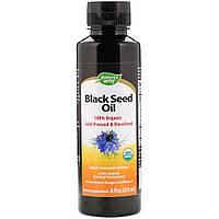 Органическое масло семян черного тмина, Nature's Way, Black Seed Oil235 мл