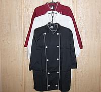 Халат ( куртка ) повара оптом , х/б р. 40-64