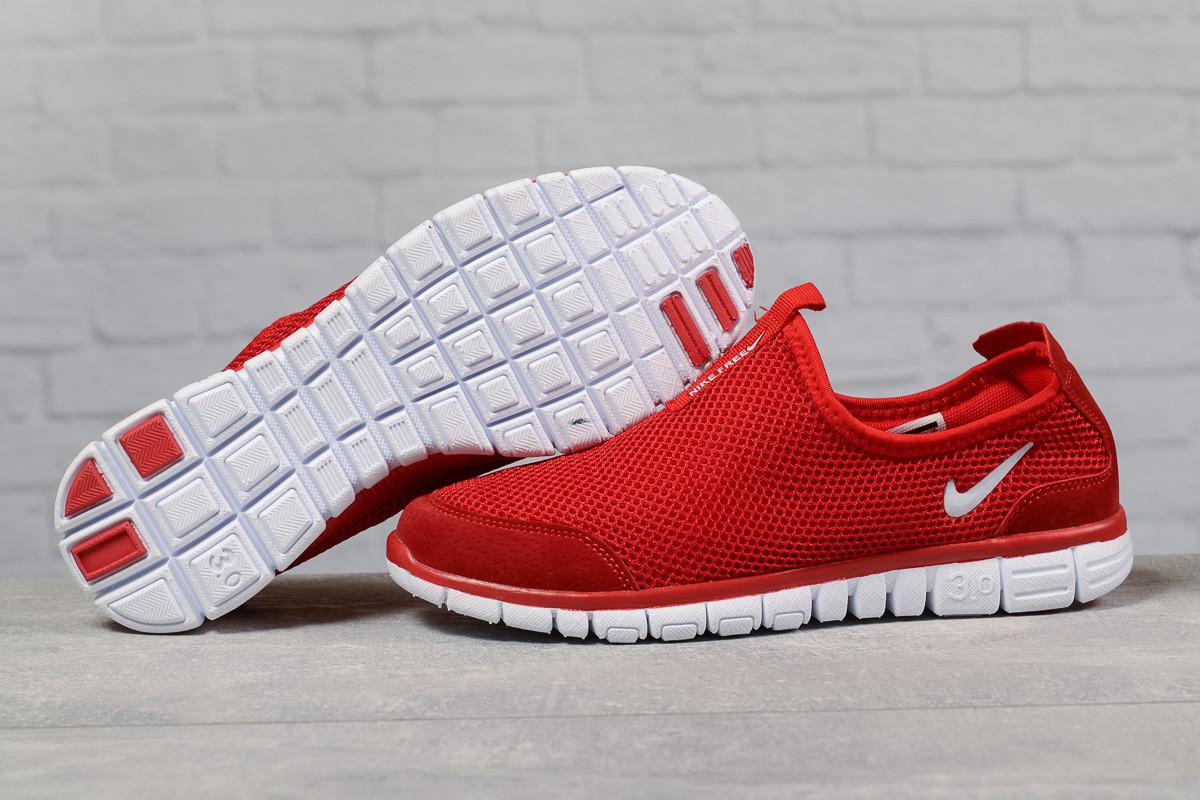 Кроссовки мужские Nike Free 3.0 красные летние кроссовки Найк Фри Ран