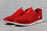 Кроссовки мужские Nike Free 3.0 красные летние кроссовки Найк Фри Ран, фото 2
