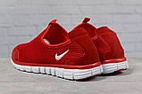 Кроссовки мужские Nike Free 3.0 красные летние кроссовки Найк Фри Ран, фото 4