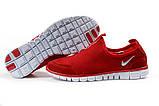 Кроссовки мужские Nike Free 3.0 красные летние кроссовки Найк Фри Ран, фото 6