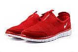 Кроссовки мужские Nike Free 3.0 красные летние кроссовки Найк Фри Ран, фото 7