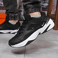 Кроссовки мужские Nike M2K Tekno черные, фото 1