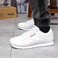 Кросівки Reebok Classic білі кросівки чоловічі демісезонні