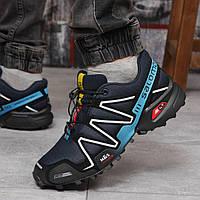 Кросівки чоловічі Salomon Speedcross темно-сині
