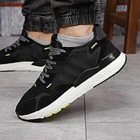 Кроссовки мужские 17298, Adidas 3M, черные, [ 41 42 43 44 45 46 ] р. 41-25,2см., фото 1