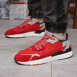 Кроссовки мужские 17297, Adidas 3M, красные, [ 41 42 43 44 45 46 ] р. 41-25,2см., фото 3