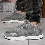 Кроссовки мужские 17299, Adidas 3M, темно-серые, [ 41 42 44 45 ] р. 41-25,2см., фото 2