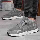 Кроссовки мужские 17299, Adidas 3M, темно-серые, [ 41 42 44 45 ] р. 41-25,2см., фото 3