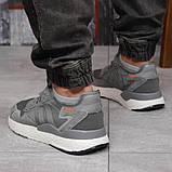 Кроссовки мужские 17299, Adidas 3M, темно-серые, [ 41 42 44 45 ] р. 41-25,2см., фото 4
