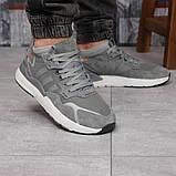 Кроссовки мужские 17299, Adidas 3M, темно-серые, [ 41 42 44 45 ] р. 41-25,2см., фото 6