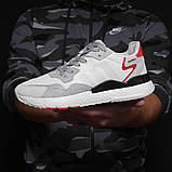 Кроссовки мужские 17300, Adidas 3M, белые, [ 41 43 44 45 46 ] р. 41-25,2см., фото 8