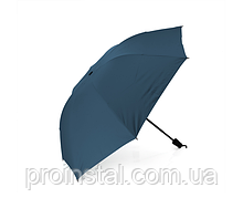 Полуавтоматический зонт, D-96см, защита от солнца, UV (99%), защита от дождя, каркас - Al+Fe, Deep blue