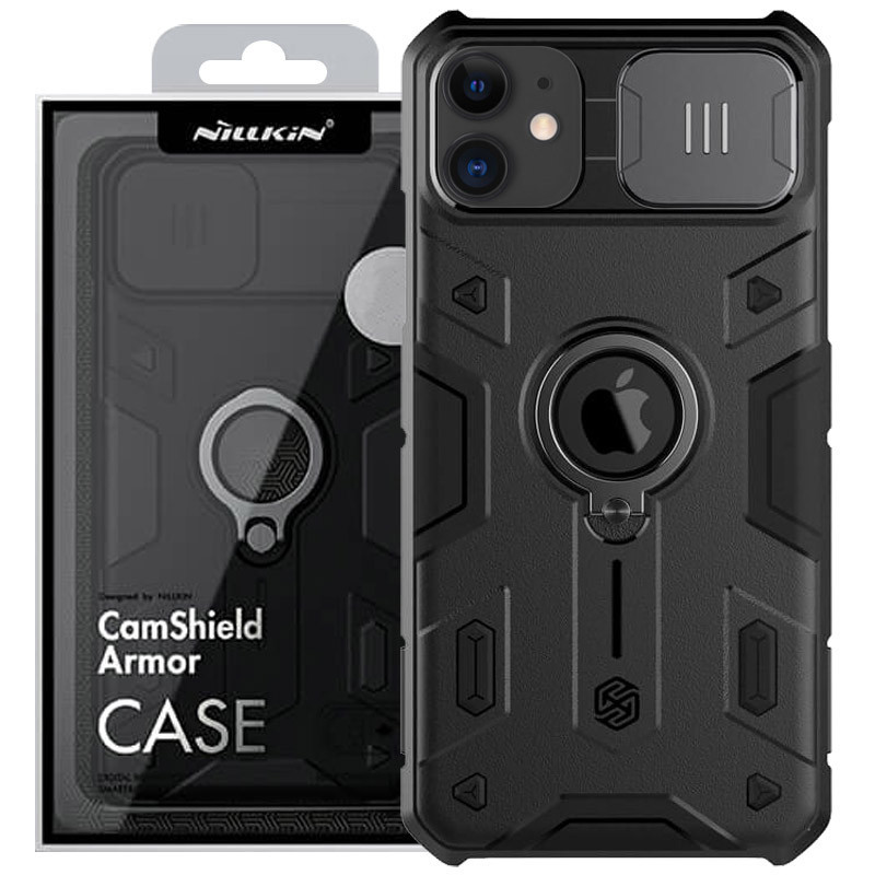 "TPU+PC чехол Nillkin CamShield Armor (шторка на камеру) для Apple iPhone 11 (6.1"")"