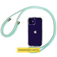 "Чехол TPU Crossbody Transparent для Apple iPhone 11 Pro Max (6.5"")"