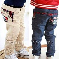 Теплые, зимние джинсы и брюки для мальчиков
